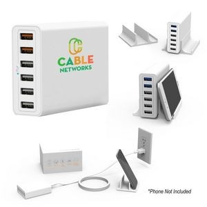 PowerHub 6-Port USB Wall Charger